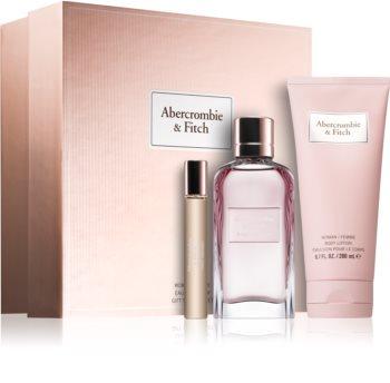 Abercrombie & Fitch First Instinct σετ δώρου III. για γυναίκες