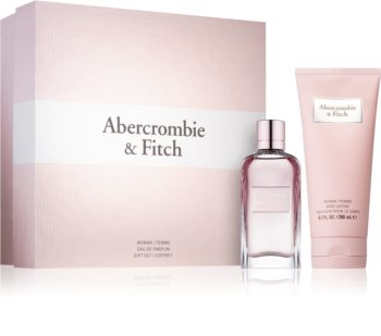 Abercrombie & Fitch First Instinct Lahjasetti IV. Naisille