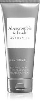 Abercrombie & Fitch Authentic gel de dus pentru corp si par pentru bărbați