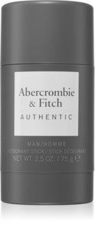 Abercrombie & Fitch Authentic desodorante en barra para hombre
