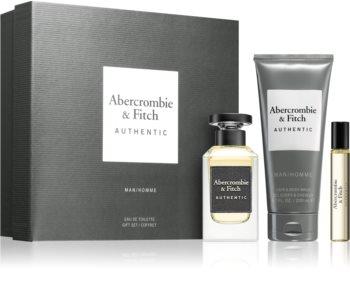Abercrombie & Fitch Authentic Presentförpackning I. för män
