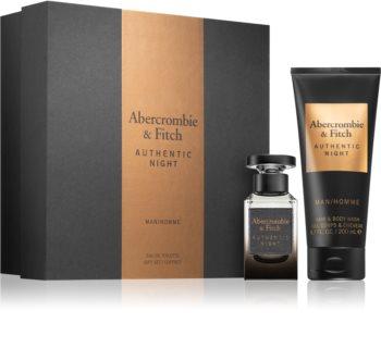 Abercrombie & Fitch Authentic Night ajándékszett uraknak