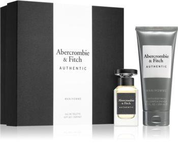 Abercrombie & Fitch Authentic set cadou II. pentru bărbați