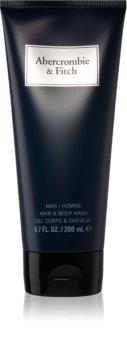 Abercrombie & Fitch First Instinct Blue gel de douche pour homme