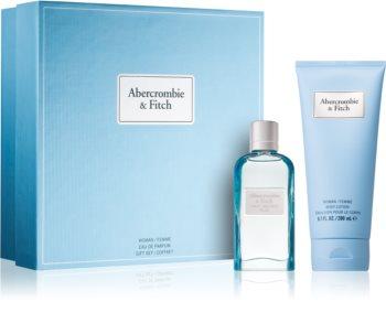 Abercrombie & Fitch First Instinct Blue coffret cadeau III. (pour femme) pour femme
