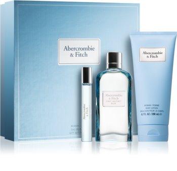 Abercrombie & Fitch First Instinct Blue set cadou II. (pentru femei) pentru femei