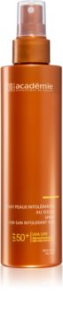 Académie Scientifique de Beauté Sun Protection Spray For Sun Intolerant Skin Vartalo Aurinkovoide Aurinkoa Sietämättömälle Iholle SPF 50+