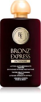 Académie Bronz' Express lotion auto-bronzante visage et corps