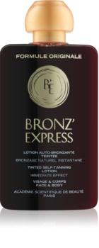 Académie Scientifique de Beauté Bronz' Express Getinte Tonic  voor Gezicht en Lichaam
