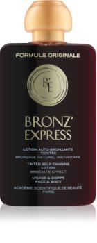 Académie Scientifique de Beauté BronzeExpress lozione tonica colorata per viso e corpo