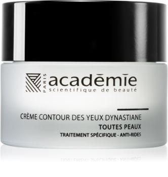 Académie Scientifique de Beauté All Skin Types Eye Contour Cream Dynastiane Augencreme für erste Falten