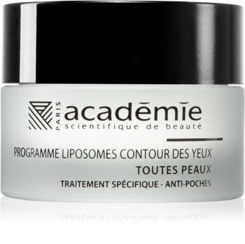 Académie Scientifique de Beauté Youth Active Lift gel pentru ochi de netezire împotriva umflăturilor
