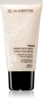 Academie All Skin Types Exfoliating Cream sanfte Peelingcreme für alle Hauttypen