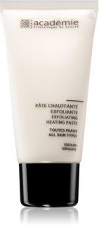 Academie All Skin Types Exfoliating Heating Paste encimski piling za obraz