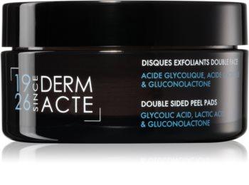 Académie Scientifique de Beauté All Skin Types Double Sided Peel Pads Eksfolierende bomuldspads til alle hudtyper