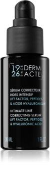 Académie Scientifique de Beauté Derm Acte Ultimate Line Correcting Serum bőr szérum az élénk és kisimított arcbőrért