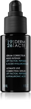 Académie Scientifique de Beauté Derm Acte Ultimate Line Correcting Serum siero viso per una pelle luminosa e liscia