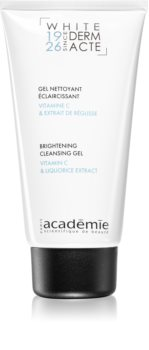 Académie Scientifique de Beauté Derm Acte Whitening Cleansing Gel with Brightening Effect