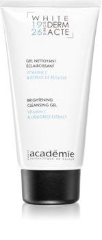 Académie Scientifique de Beauté Derm Acte Whitening tisztító gél az élénk bőrért