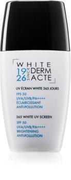 Académie 365 White UV Screen crème protectrice visage haute protection solaire