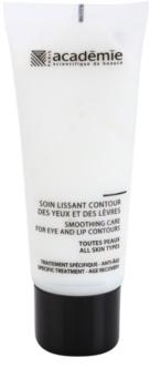 Academie All Skin Types creme antirrugas para o contorno dos olhos e lábios