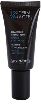 Academie Derm Acte Severe Dehydratation creme lifting para o contorno dos ollhos e pestanas