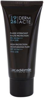Academie Derm Acte Severe Dehydratation protetor hidratante fluido SPF 30