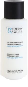Academie Derm Acte Intolerant Skin leite de limpeza suave para rosto e olhos