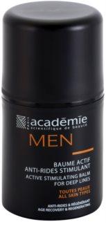 Académie Scientifique de Beauté Men baume actif visage anti-rides