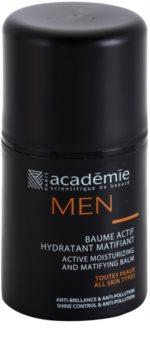 Academie Men Aktivt fuktgivande balsam med matt effekt