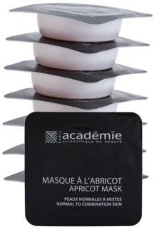 Academie Normal to Combination Skin máscara de damasco refrescante