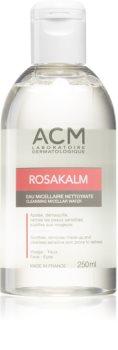 ACM Rosakalm eau micellaire nettoyante pour peaux sensibles sujettes aux rougeurs