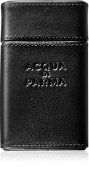 Acqua di Parma Colonia Essenza kolínská voda + kožené pouzdro pro muže