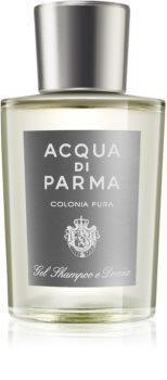 Acqua di Parma Colonia Pura gel de dus pentru corp si par pentru bărbați