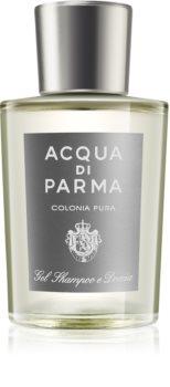Acqua di Parma Colonia Pura sprchový gél na telo a vlasy pre mužov