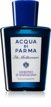 Acqua di Parma Blu Mediterraneo Ginepro di Sardegna energizujący żel pod prysznic unisex