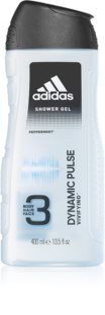 Adidas Dynamic Pulse Duschgel für Gesicht, Körper und Haare 3 in1