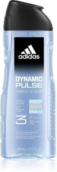 Adidas Dynamic Pulse gel de banho para o rosto, corpo e cabelo 3 em 1