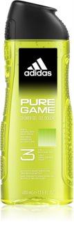 Adidas Pure Game gel de douche visage, corps et cheveux 3 en 1