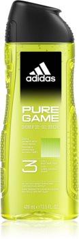 Adidas Pure Game gel za prhanje za obraz, telo in lase 3v1