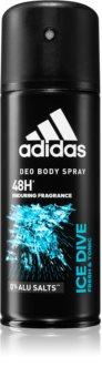 Adidas Ice Dive Deospray för män 48 h