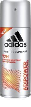 Adidas Adipower αντιιδρωτικό σε σπρέι για άντρες