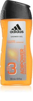 Adidas Adipower sprchový gel pro muže 3 v 1