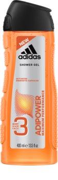 Adidas Adipower żel pod prysznic dla mężczyzn 3 w 1