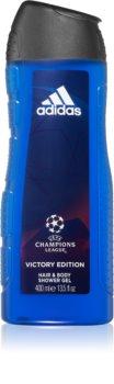 Adidas UEFA Champions League Victory Edition гель для душа для тела и волос 2в1