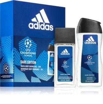 Adidas UEFA Champions League Dare Edition darčeková sada (pre mužov) I.