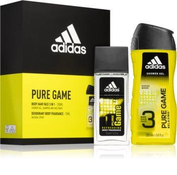 Adidas Pure Game zestaw upominkowy (dla mężczyzn)