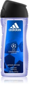 Adidas UEFA Champions League Anthem Edition gel de douche corps et cheveux
