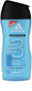 Adidas 3 After Sport tusfürdő gél