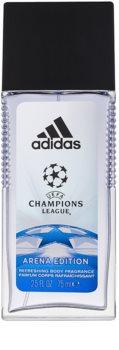 Adidas UEFA Champions League Arena Edition deodorante con diffusore per uomo